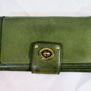 MARC MARC JACOBS Bifold Wallet Organizer Leather